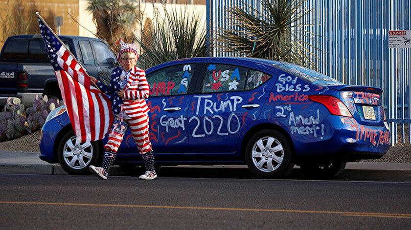 ABDdeki başkanlık yarışında Arizona eyaletini 11 bin oy farkla Biden kazandı