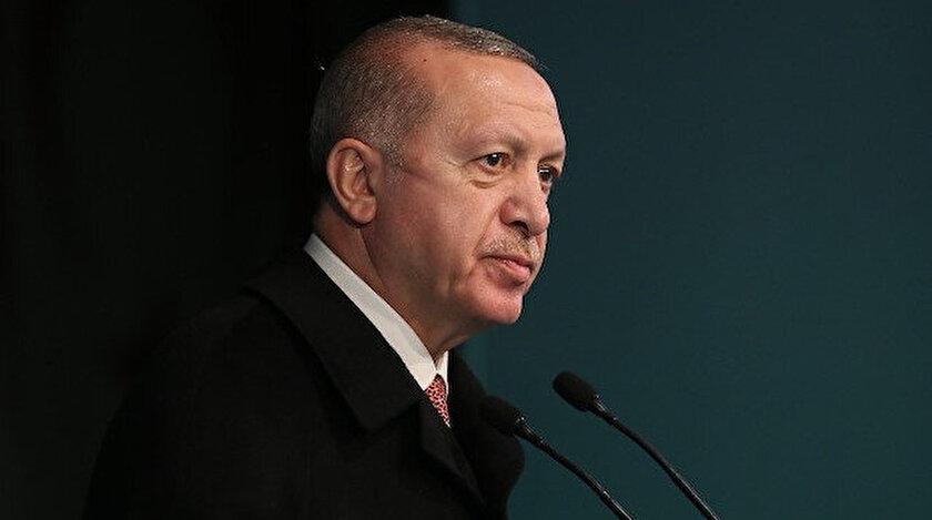 Cumhurbaşkanı Erdoğandan yanan tarihi camiye ilişkin açıklama