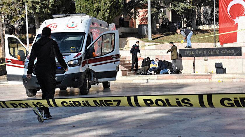 Olay yerine ambulans ve polis ekipleri sevk edildi.