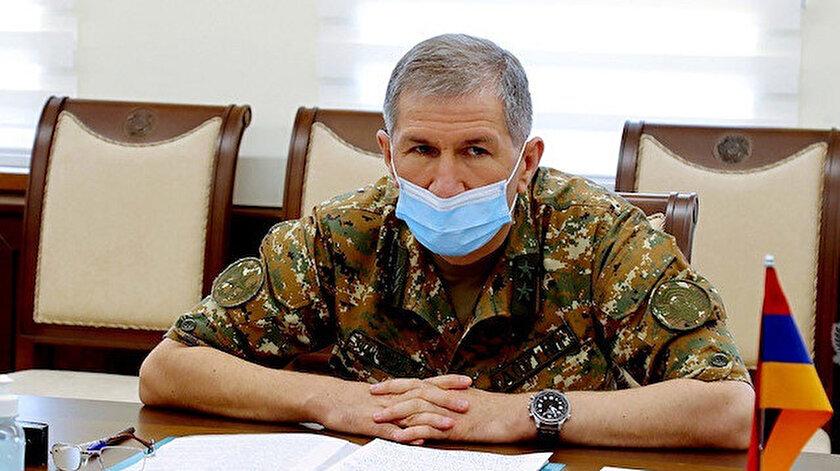 Ermenistan Genelkurmay Başkanı Gasparyan: 3 günde cephanemiz bitti, savaşmamayı teklif ettim