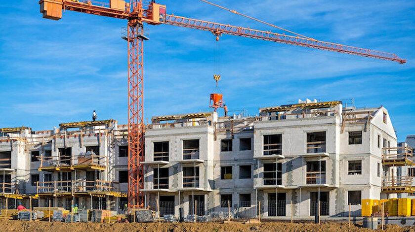 Yapı ruhsatı verilen bina sayısı yüzde 73,7 arttı