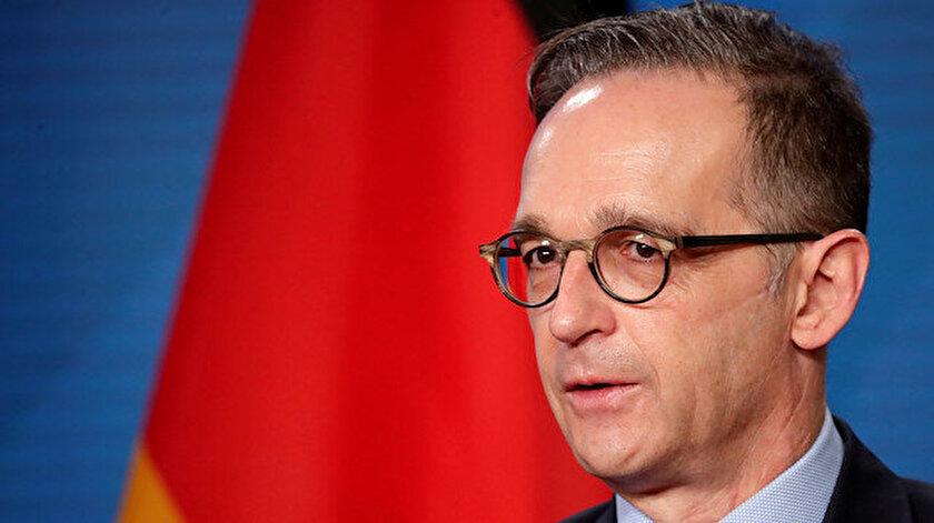Almanya Dışişleri Bakanı Maastan Türkiyeye yaptırım tehdidi