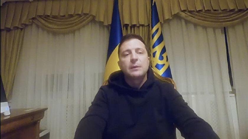 Ukrayna Devlet Başkanı Zelenskiy.