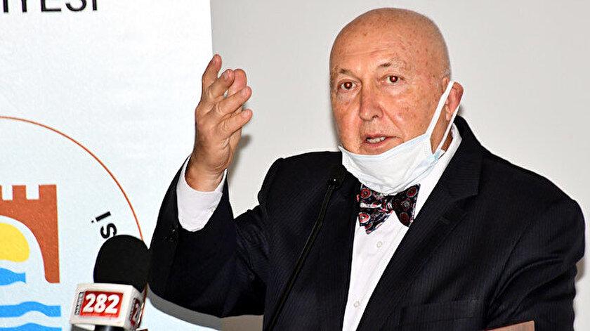 Jeofizik Yüksek Mühendisi Prof. Dr. Övgün Ahmet Ercan açıklama yaptı.