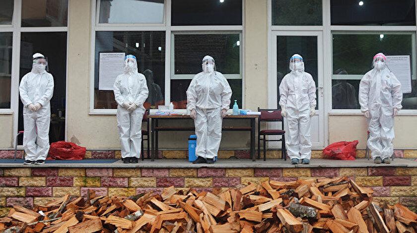 Rize'de koronavirüs vakaları artıyor.