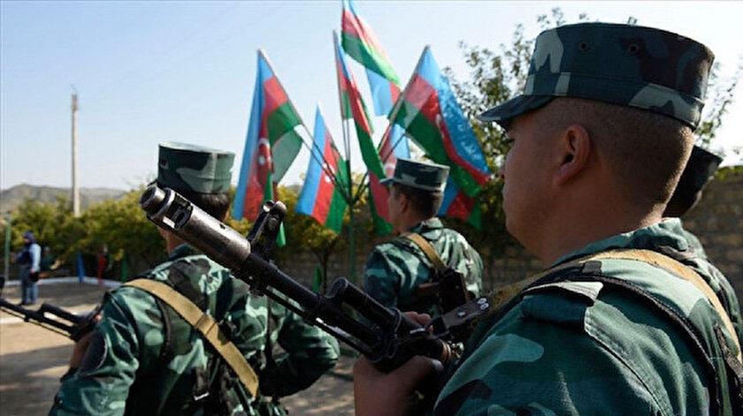 27 yıl sonra bir ilk: Azerbaycan ordusu işgal altında bulunan Ağdama girdi