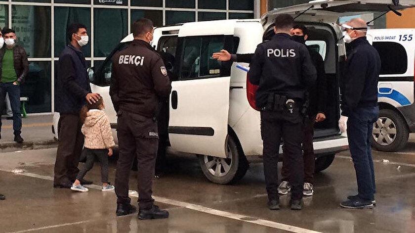 Para cezası uygulanan aile yurda yerleştirildi.