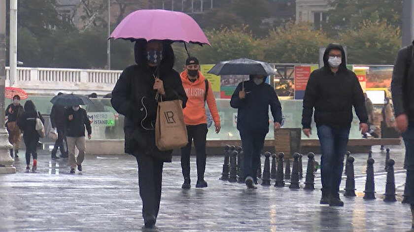 Meteorolojiden çok sayıda ile yağış uyarısı yapıldı.