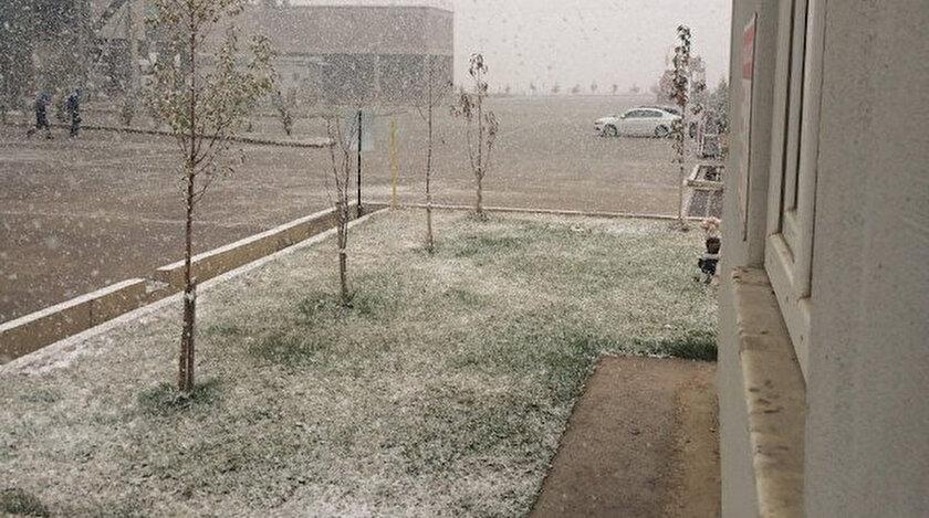 Ankarada mevsimin ilk karı yağdı! Ankarada 5 günlük hava durumu tahminleri