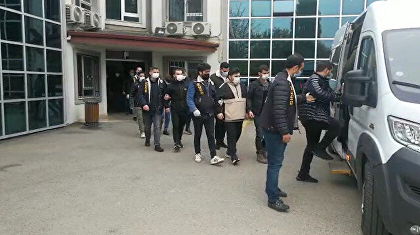 Siber dolandırıcılık operasyonu: Çete üyesi 9 kişi gözaltına alındı