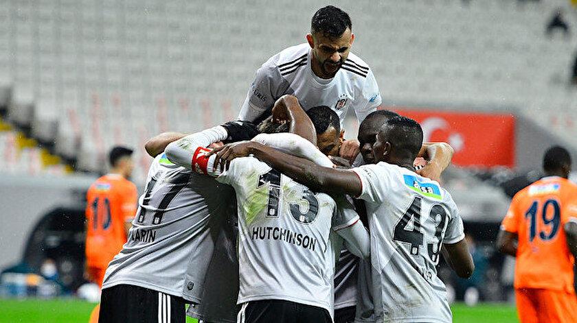 Beşiktaş-Başakşehir 3-1 özet izle