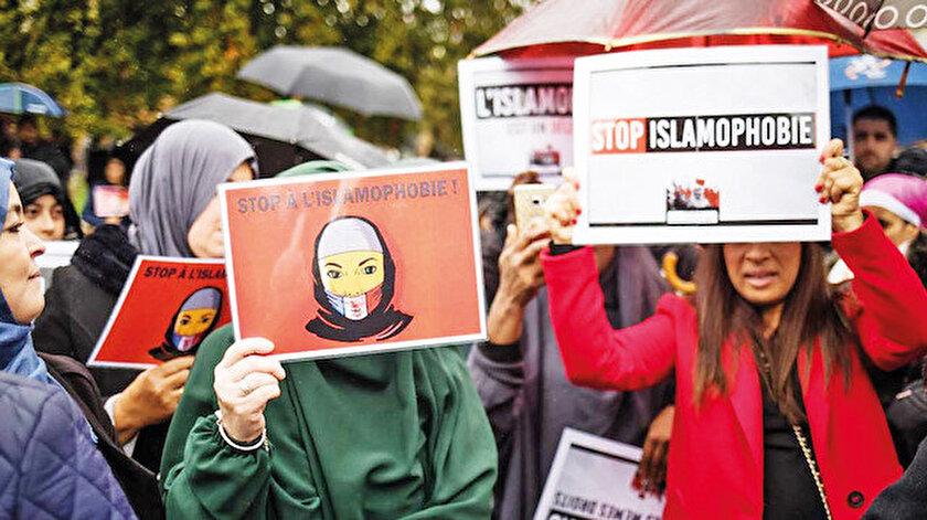 İslami kurumları ve Müslümanları baskı altına alma politikalarıyla İslamofobinin öncüsü olan Paris yönetimi, bu kez ülkesindeki yabancıları tehdit etti.