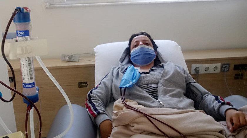 Pınar Kadanalı, bağışlanacak böbreği bekliyor.