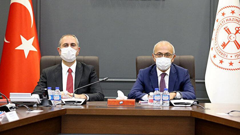 Adalet Bakanı Abdülhamit Gül - Hazine ve Maliye Bakanı Lütfi Elvan