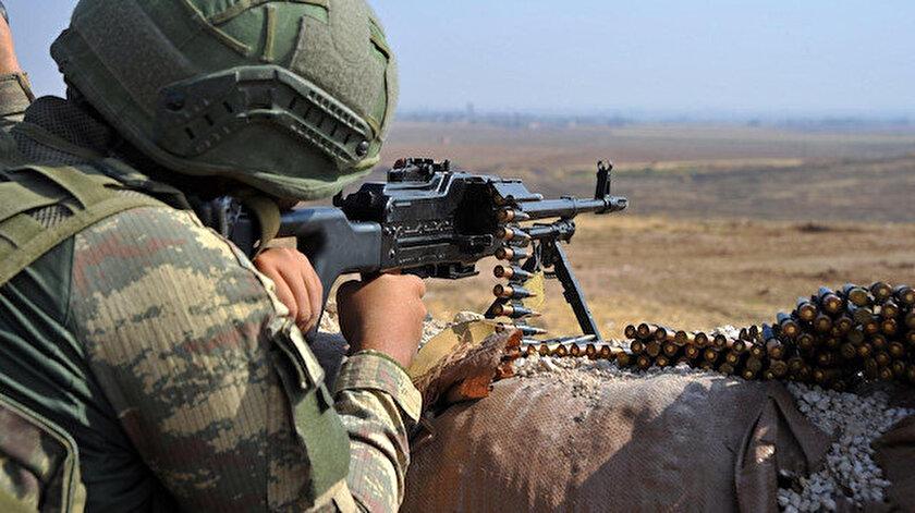 Barış Pınarı bölgesine sızarak saldırı girişiminde bulunan 6 PKK/YPG'li terörist etkisiz hale getirildi