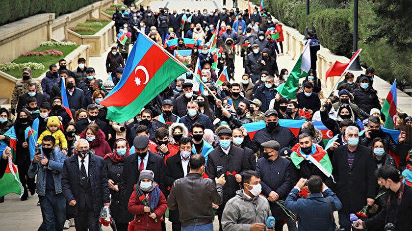 Ermenistan, 10 Kasım'da Azerbaycan ile Dağlık Karabağ'daki çatışmalara son veren anlaşmaya imza atmak zorunda kaldı.