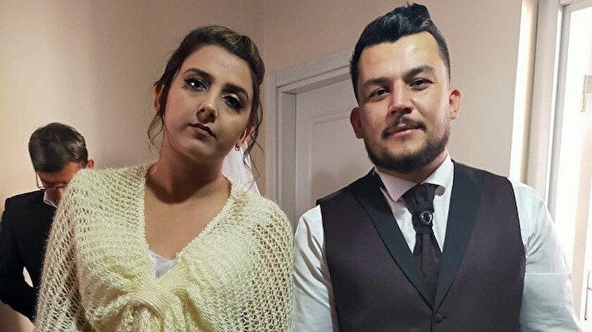 Özlem Özcan ve Muttalip Bayram'ın mutluluğu yarım kaldı.