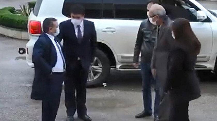 Özbekistanlı danışman, terör örgütü PYD/YPG'lilerle görüştü.