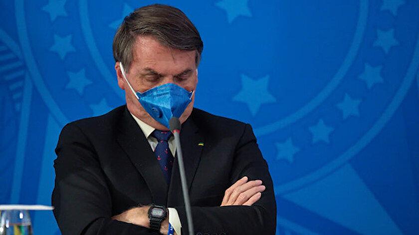 Brezilya Devlet Başkanı Bolsonarodan aşı resti: Karşıyım, yaptırmayacağım