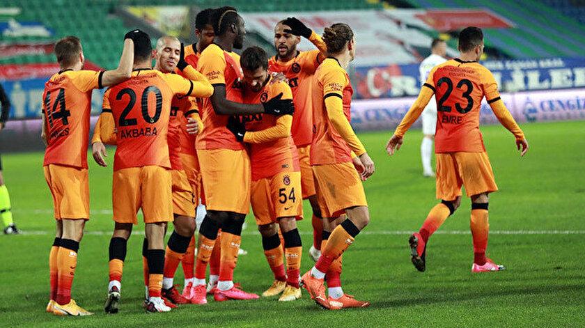 Galatasaraylı futbolcuların gol sevinçleri