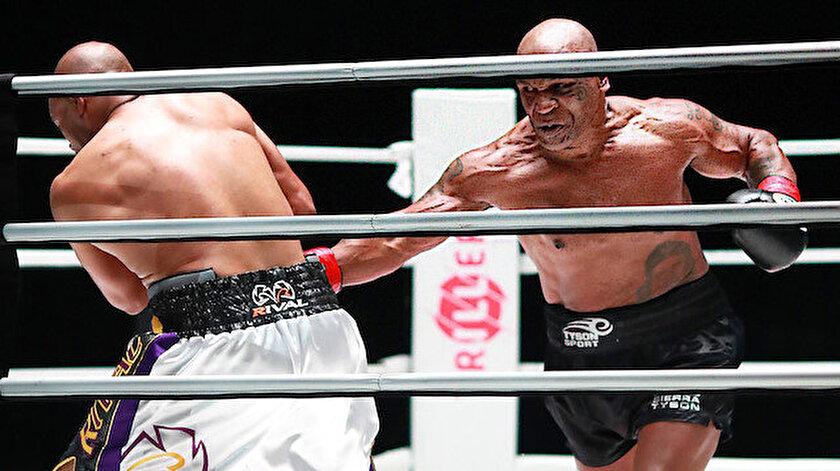 Tyson 15 yıl sonra yeniden ringe çıktı.