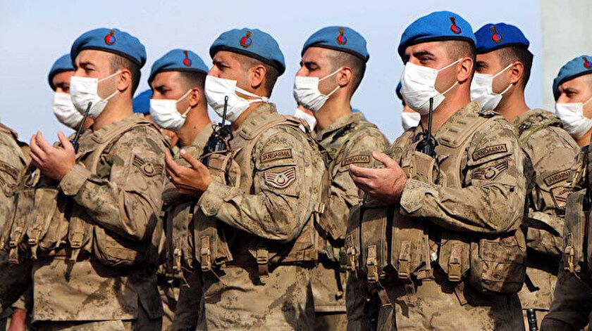 241 komando Barış Gücü Harekâtı kapsamında dualarla Suriye'ye uğurlandı