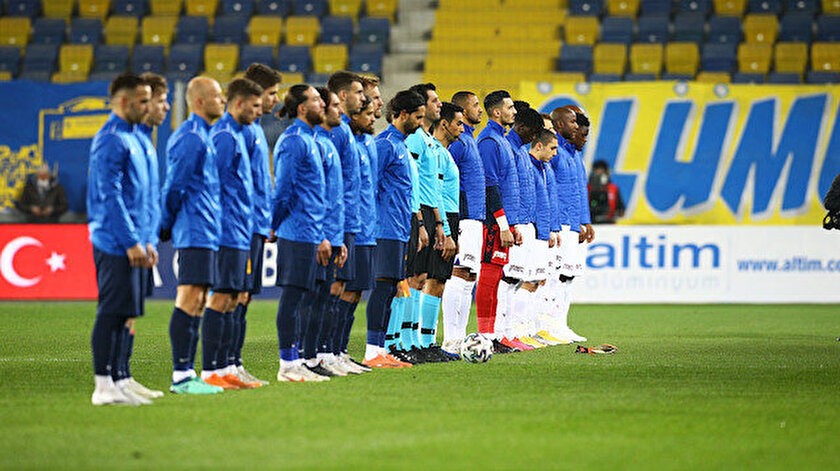 Ankaragücü'nün Trabzonspor maçındaki 11'i