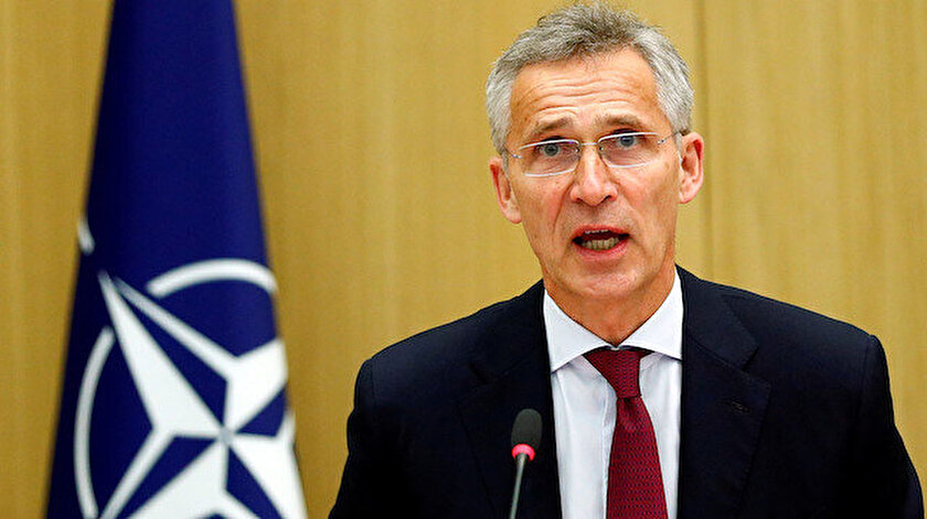 NATO Genel Sekreteri Jens Stoltenberg.