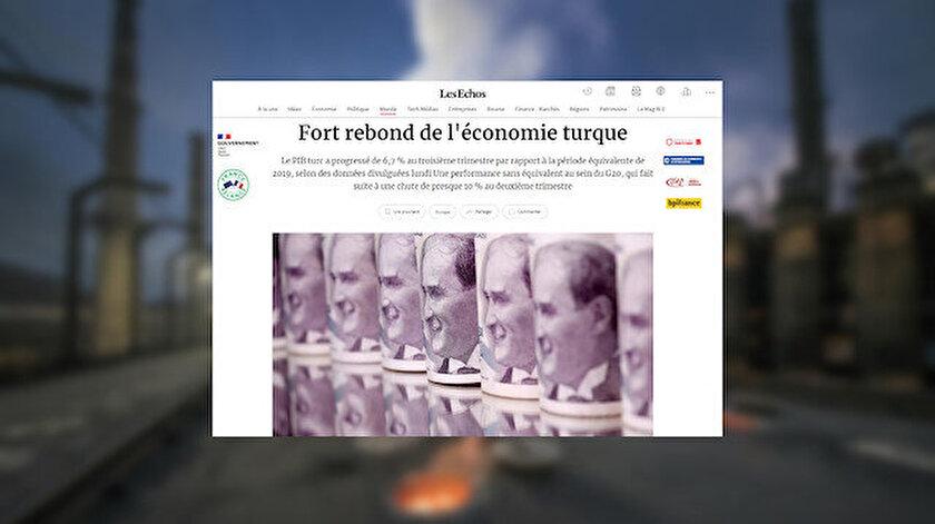 Yazı, Fransız finans gazetesi Les Echos'un internet sitesinde yayımlandı.