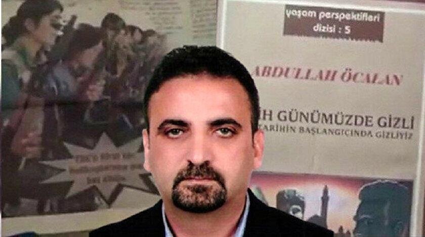 Cihan Yavuz'un evinde yapılan aramada, terör örgütü PKK'nın elebaşı Abdullah Öcalan'ın ve teröristlerin resimlerinin yer aldığı yayınlar bulunmuştu.