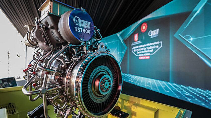 Yerli helikopter yerli motorla havalanacak: İlk milli helikopter motoru TEI-TS1400'ün teslimatı yapıldı