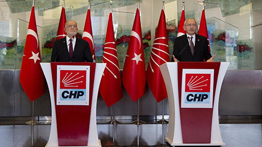 Temel Karamollaoğlu ve Kemal Kılıçdaroğlu