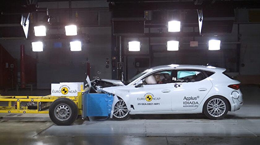 Tam puan aldı: 2020 Seat Leon çarpışma testlerini başarıyla geçti