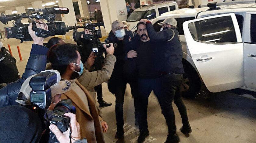 Yurt dışına kaçarken yakalanan DHKP-C'li avukat Aytaç Ünsal tutuklandı.
