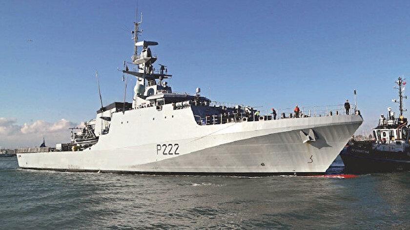 İngiliz donanması devrede: Manş Denizi'nde Brexit krizi