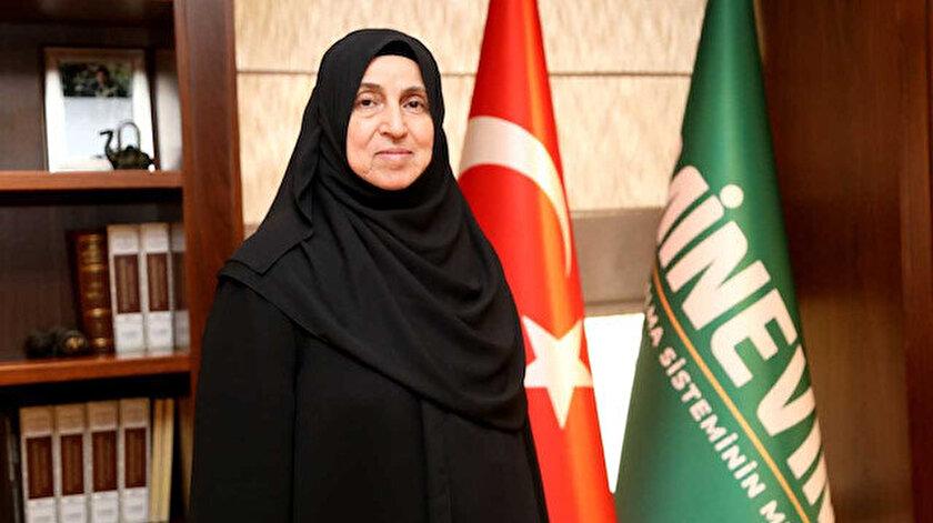Emin Grup Yönetim Kurulu Başkanı Süheyla Üstün açıklama yaptı.