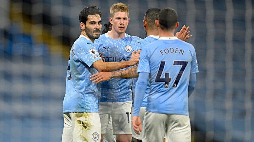 Manchester City, ligde 20 puanla 6. sırada yer alıyor.
