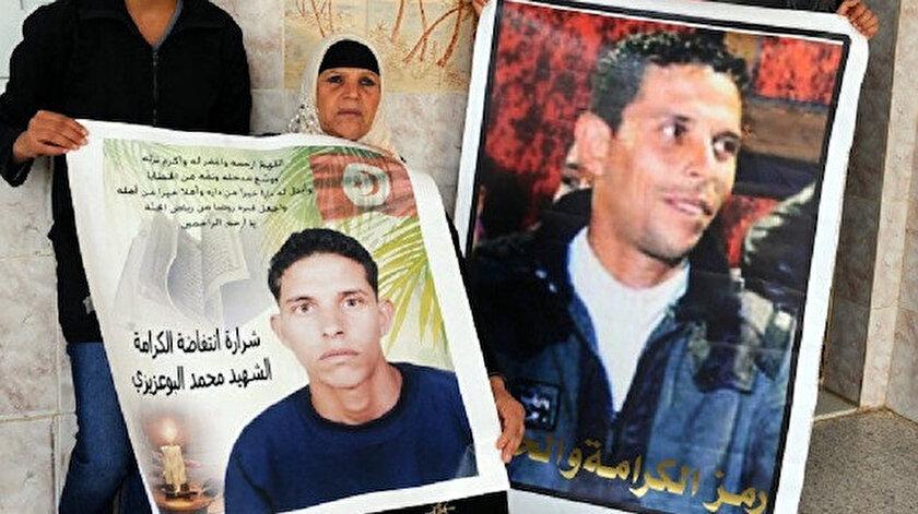 Kendisi ile Arap dünyasını bir anda ateşe veren isim: Muhammed Buazizi
