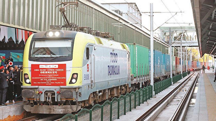 İhracat treni Çin'e vardı - Yeni Şafak