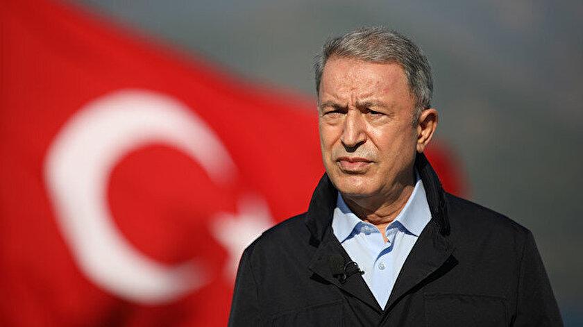 Milli Savunma Bakanı Akar: Komşumuz gerçekleri saptırmaya devam ediyor