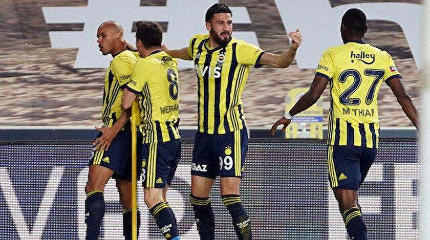 Fenerbahçe Başakşehir maç özeti ve golleri: Çok tartışılan pozisyonlar