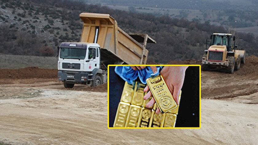 Altın rezervi FETÖnün kasası Akın İpek'ten geri alınan GÜBRETAŞın arazisinde bulundu