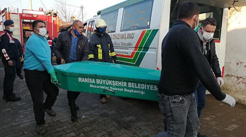 Manisa haberleri: Yaşlı kadın yangında feci şekilde can verdi