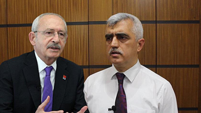 Kılıçdaroğlundan FETÖcülerle toplantı yapan HDPli Gergerlioğlu'na çıplak arama yalanı için destek telefonu