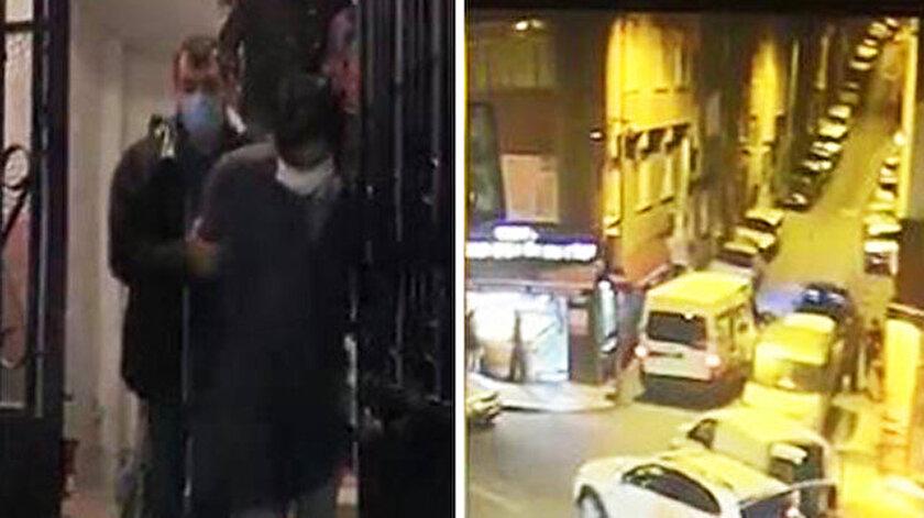 Bayrampaşa'da dehşet anları: Öldürdükleri kişiyi battaniyeye sarıp böyle taşıdılar