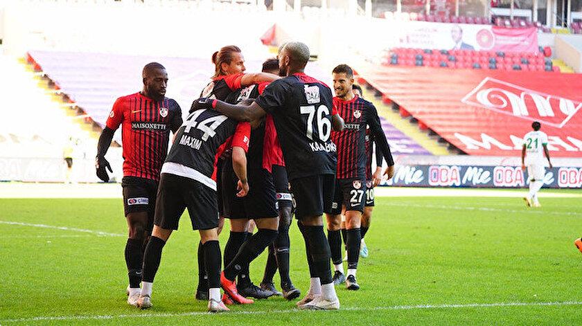 Gaziantep FK-Alanyaspor  maçı kaç kaç bitti?