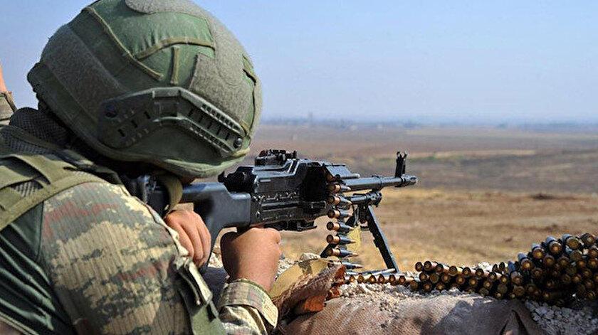 Barış Pınarı bölgesine sızma girişiminde bulunan 4 PKK/YPGli terörist etkisiz hale getirildi