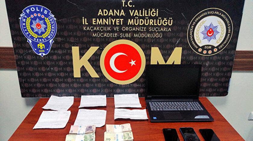 Hazırladığı sahte evrakla firma adına bankadan toplam 12 milyon TL kredi çektiği belirlendi.