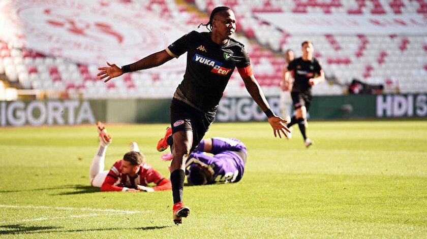 Rodallega'nın Sivasspor maçındaki gol sevinci