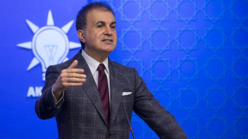 AK Parti Sözcüsü Ömer Çelik.